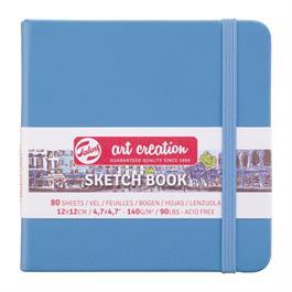 Sketchbook 12x12cm Lake Blue  thumbnail