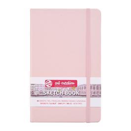 Sketchbook Pastel Pink 13x21cm thumbnail