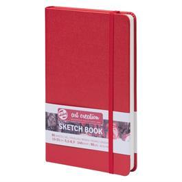 Sketchbook 13x21cm Red thumbnail