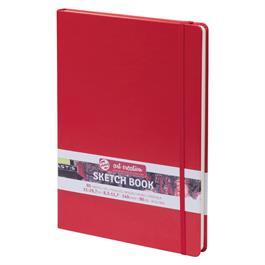 Sketchbook A4 (21x30cm) Red thumbnail