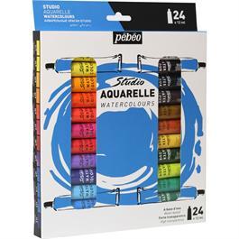 Pebeo Studio Watercolour 24x12ml thumbnail