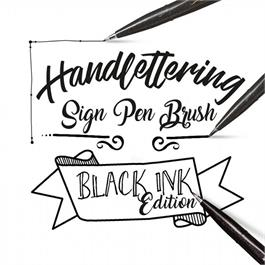 Pentel Touch Brush Sign Pen Single Colours Thumbnail Image 2