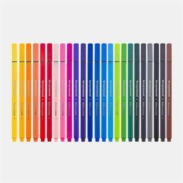 Bruynzeel Fineliner 24 Basic Colour Set Thumbnail Image 2