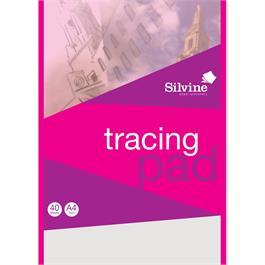 A4 Silvine Tracing Pad 63gsm thumbnail