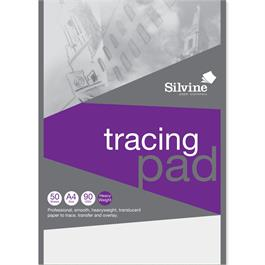 A4 Silvine Professional Tracing Pad 90gsm thumbnail