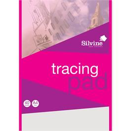 Silvine Tracing Pads 63gsm Thumbnail Image 0