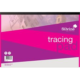 Silvine Tracing Pads 63gsm Thumbnail Image 1