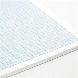 Silvine Professional Graph Pads 1, 5 & 10mm Grid Thumbnail Image 1