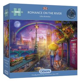 Romance on the River 1000 Piece Jigsaw Puzzle Thumbnail Image 0