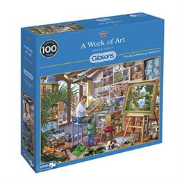 A Work of Art 1000 Piece Jigsaw Puzzle Thumbnail Image 0