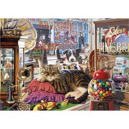 Abbey's Antique Shop 1000 Piece Jigsaw Puzzle Thumbnail Image 1