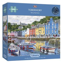 Tobermory 1000 Piece Jigsaw Puzzle Thumbnail Image 0