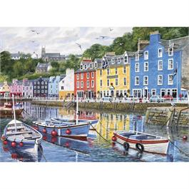 Tobermory 1000 Piece Jigsaw Puzzle Thumbnail Image 1