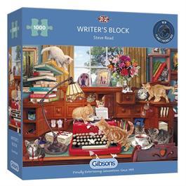 Writer's Block 1000 Piece Jigsaw Puzzle Thumbnail Image 0