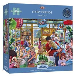 Furry Friends Jigsaw 1000pc Thumbnail Image 0