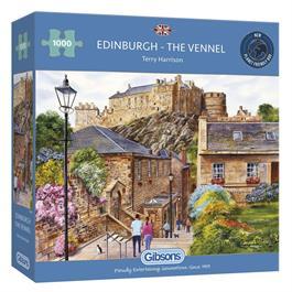 Edinburgh - The Vennel Jigsaw 1000pc thumbnail