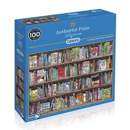 Authorful Puns Jigsaw 1000pc thumbnail