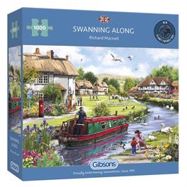 Swanning Along Jigsaw 1000pc Thumbnail Image 0