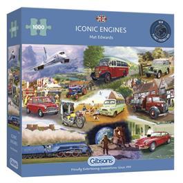 Iconic Engines Jigsaw 1000pc Thumbnail Image 0