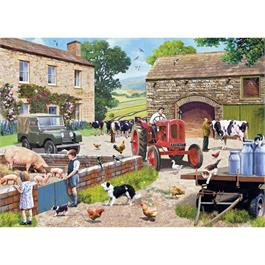 Life on the Farm Jigsaw 1000pc Thumbnail Image 1