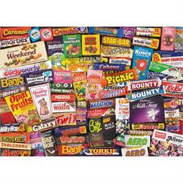 1980s Sweet Memories Jigsaw 1000pc Thumbnail Image 1