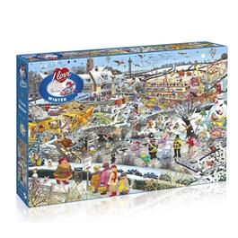 I Love Winter Jigsaw 1000pc Thumbnail Image 0
