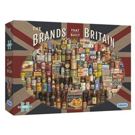 The Brands that Built Britain Jigsaw 1000 Pieces Thumbnail Image 0