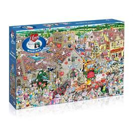 I Love Weddings Jigsaw 1000pc thumbnail