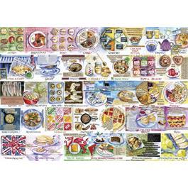 Pork Pies & Puddings Jigsaw 1000pc Thumbnail Image 1