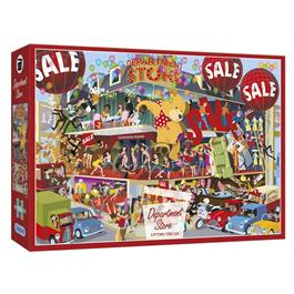 Lifting the Lid - Department Store Jigsaw 1000 Pieces Thumbnail Image 0