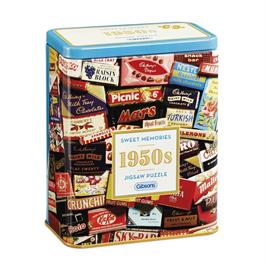 1950s Sweet Memories Gift Tin - 500 Piece Jigsaw Puzzle thumbnail