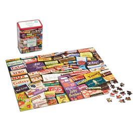 1960s Sweet Memories Gift Tin - 500 Piece Jigsaw Puzzle Thumbnail Image 1