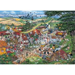I Love the Farmyard Jigsaw 1000pc Thumbnail Image 1