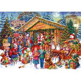 This Way To Santa Limited Edition 2020 Jigsaw 1000pc Thumbnail Image 1
