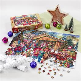 This Way To Santa Limited Edition 2020 Jigsaw 1000pc Thumbnail Image 2