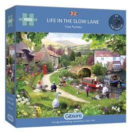 Life In The Slow Lane Jigsaw 1000pc Thumbnail Image 0