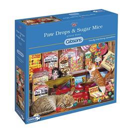 Paw Drops & Sugar Mice Jigsaw 1000pc Thumbnail Image 0
