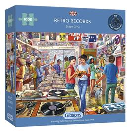 Retro Records Jigsaw 1000pc Thumbnail Image 0