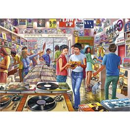 Retro Records Jigsaw 1000pc Thumbnail Image 1