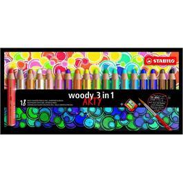 STABILO Woody Pencils Pack of 18 + Sharpener thumbnail