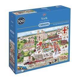 York Jigsaw 1000pc Thumbnail Image 0