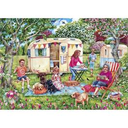 Caravan Escape Jigsaw 1000pc Thumbnail Image 1