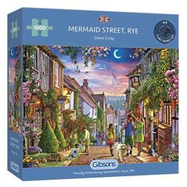 Mermaid Street, Rye Jigsaw 1000pc Thumbnail Image 0