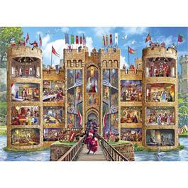 Castle Cutaway Jigsaw 1000pc Thumbnail Image 1