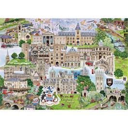 Oxford Jigsaw 1000pc Thumbnail Image 1