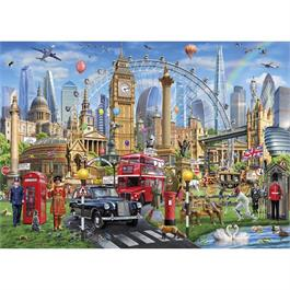 London Calling Jigsaw 1000pc Thumbnail Image 1