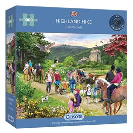 Highland Hike Jigsaw 1000pc Thumbnail Image 0