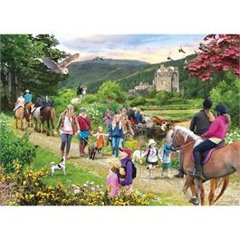 Highland Hike Jigsaw 1000pc Thumbnail Image 1