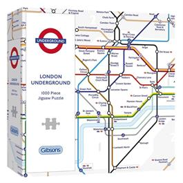 TFL London Underground Map Jigsaw 1000pc thumbnail
