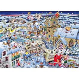 I Love Christmas  Jigsaw 1000pc Thumbnail Image 1